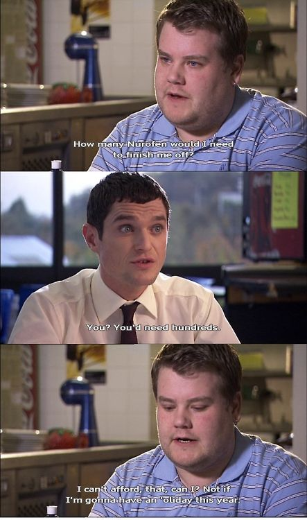 Gavin and Stacey - This show is so charming and funny.