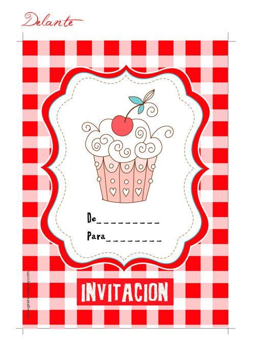 Invitaciones Infantiles Para Descargar Invitaciones De