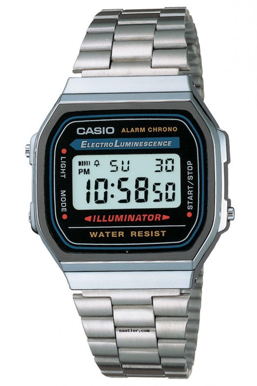 Casio Retro A168wa 1uwd Kol Saati Erkek Kol Saatleri Retro Saatler