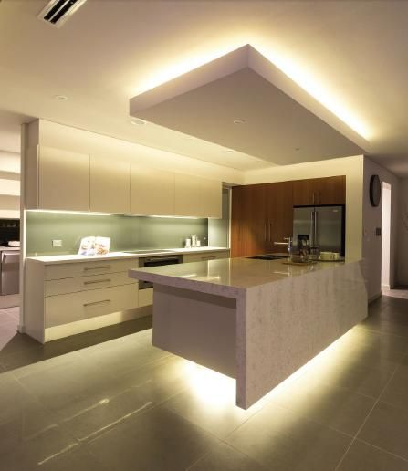 Kitchen Decorating Ideas Australia: Pin By Sarge Mabry Service - Electrical Contractor On LED Kitchen Lighting Ideas In 2019