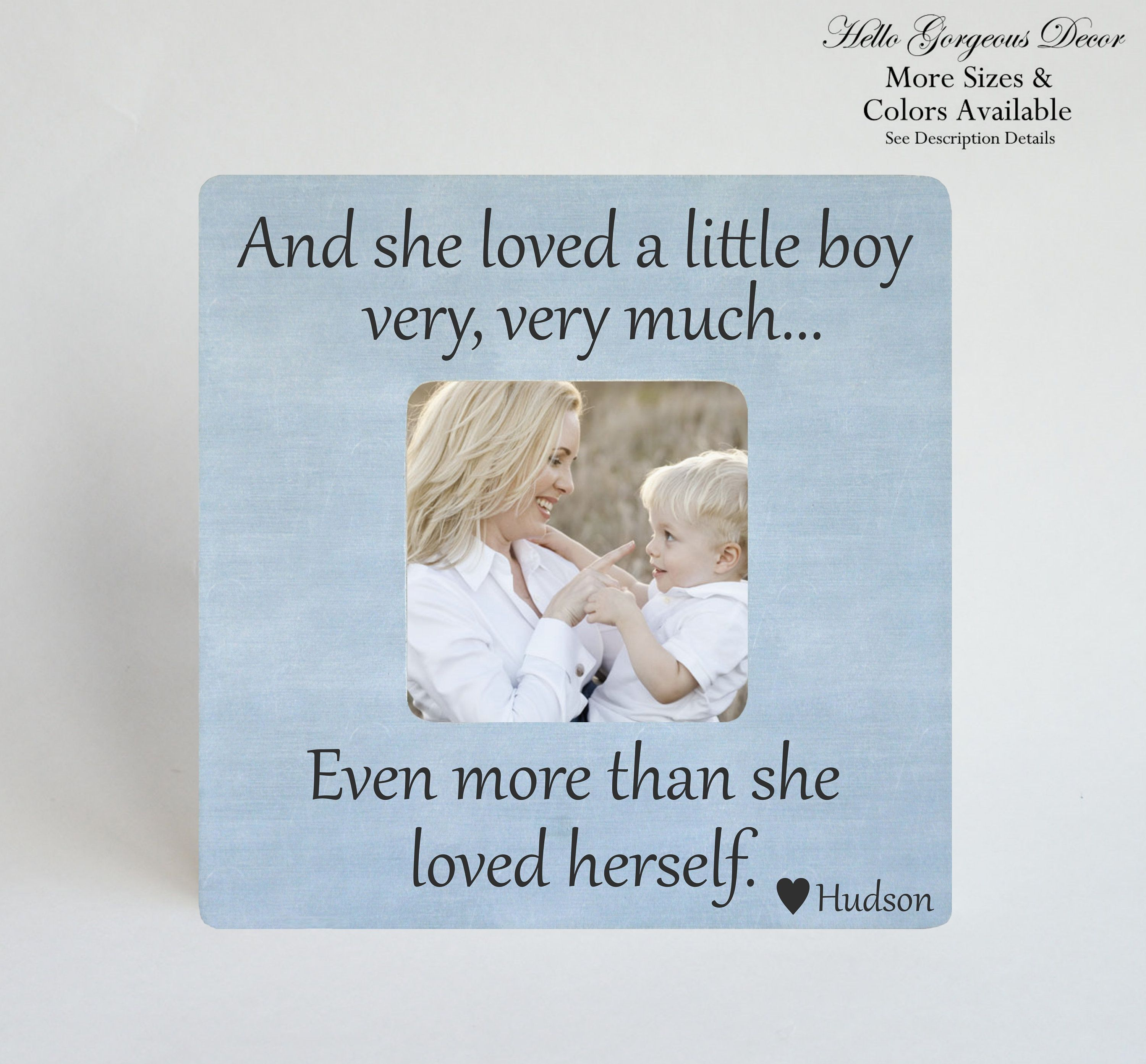 FIRST MOTHER/'S DAY Gift to Mom Mother from Baby Picture Frame Personalized Mother/'s Day Gift for New Mother New Mom Custom Photo Frame Gift
