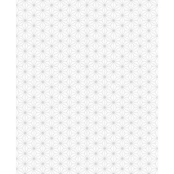 Papier peint intiss origami blanc leroy merlin for Decoration interieure papier peint
