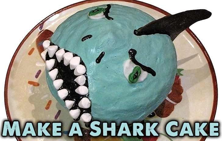 Make a Shark Cake for Shark Week #sharkweekfood Make a Shark Cake for Shark Week #sharkweekfood Make a Shark Cake for Shark Week #sharkweekfood Make a Shark Cake for Shark Week #sharkweekfood