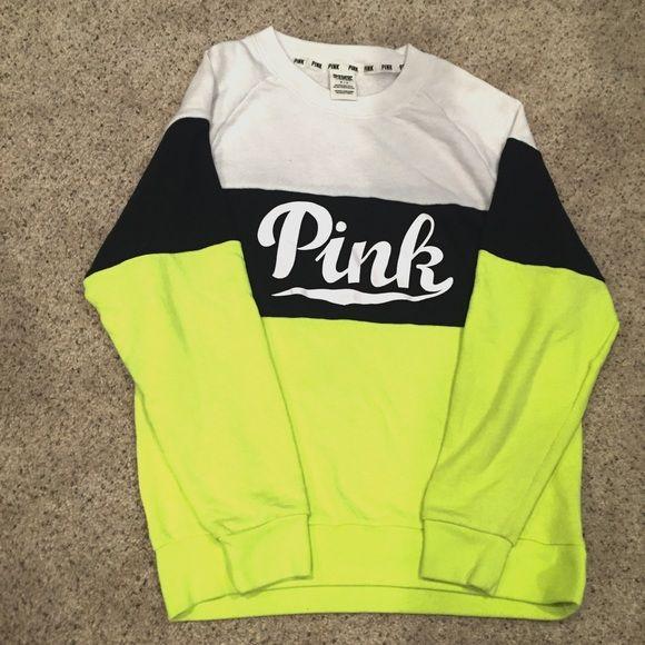 Victoria's Secret Pink Sweatshirt | Crew neck sweatshirt