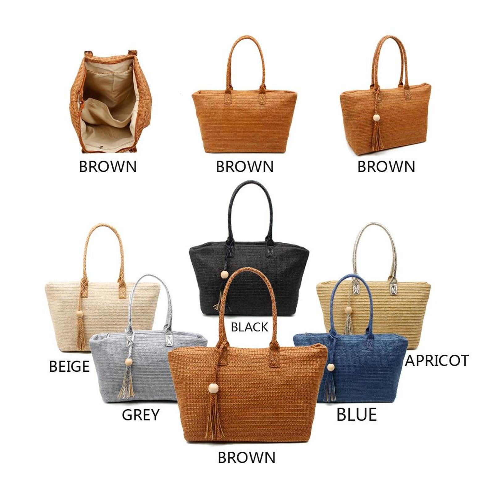 Photo of OBC DAMEN TASCHE SHOPPER in Flechtoptik