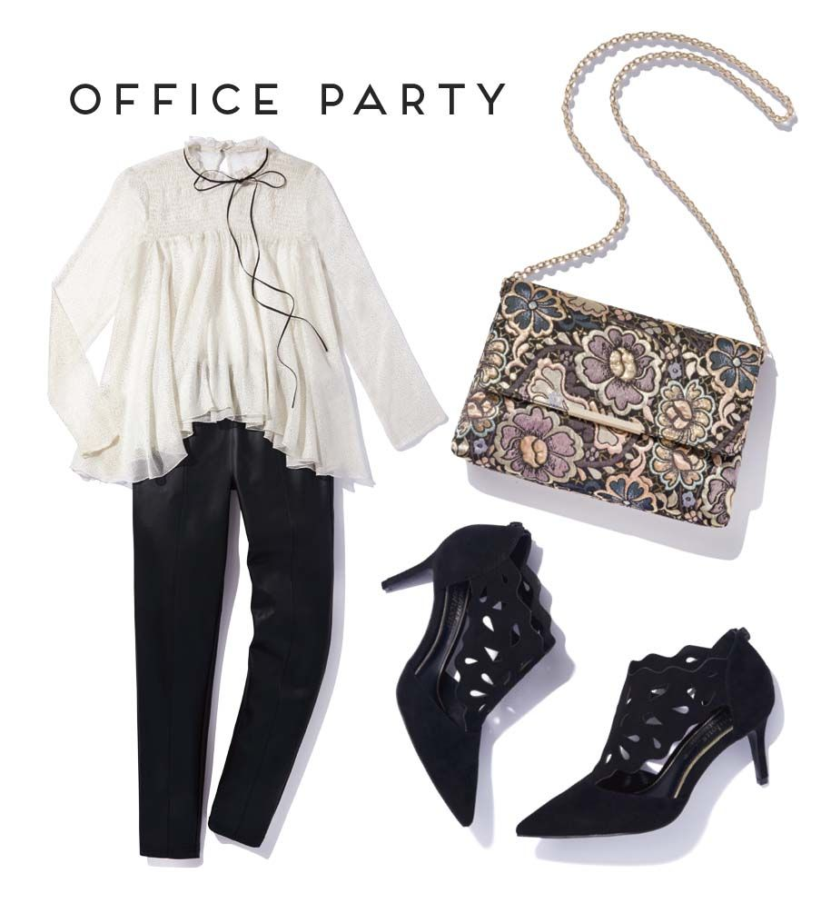 Choosing your office Christmas party outfit is always a big decision ...