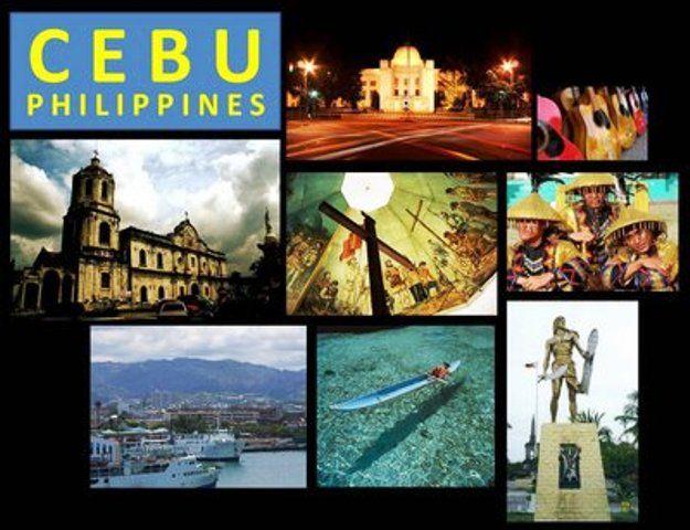 Cebu Tourist Spots Collage