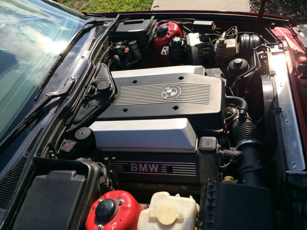 1995 BMW 540i Touring 6-Speed | The Engine Bay | Cars, Bmw