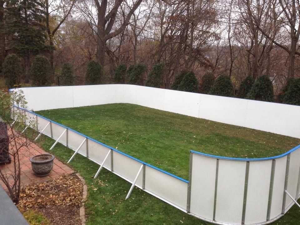 Learn How Hockey Ice Rink Kits May Be Used For Winter (Flooded Ice Rinks),  Year Round Indoor/Outdoor Ice Rinks And With/without Synthetic Ice.