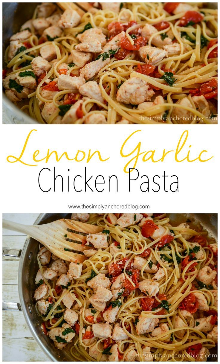 Ten family friendly 21 day fix recipes garlic chicken pasta food lemon garlic chicken pasta forumfinder Choice Image
