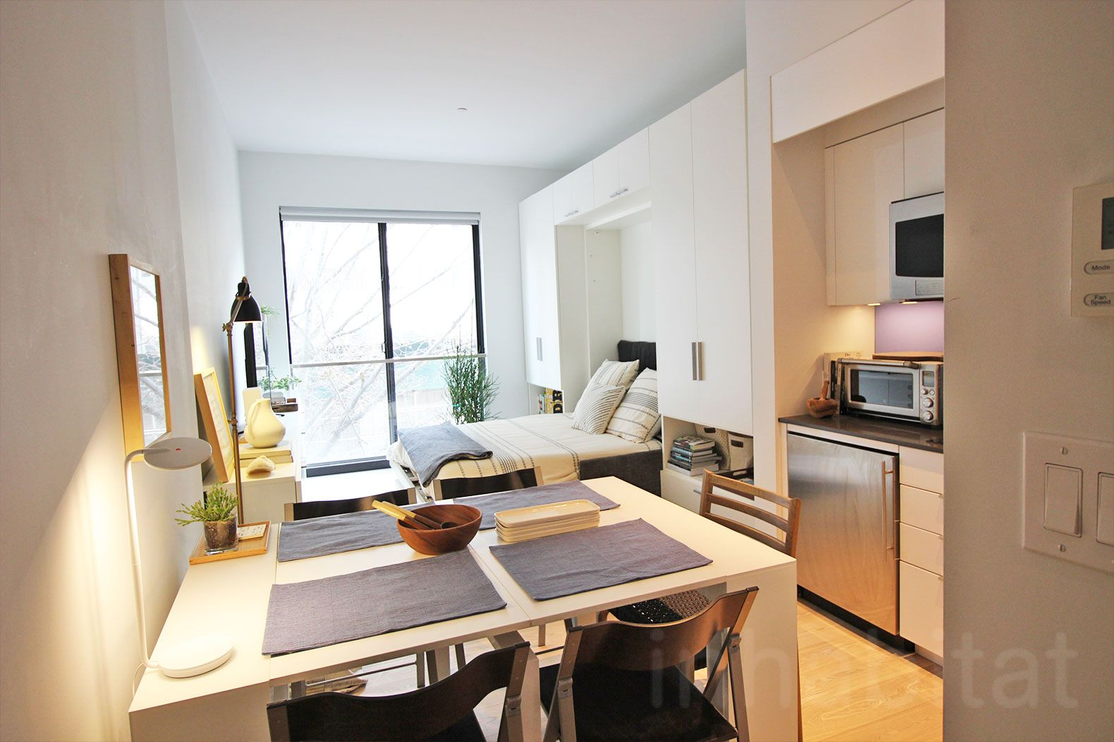 Video nyc 39 s first micro apartment building is almost Micro apartment interior design