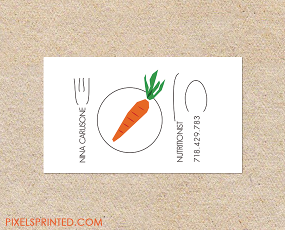 Nutritionist business cards personal chef business cards ideias nutritionist business cards personal chef business cards reheart Images