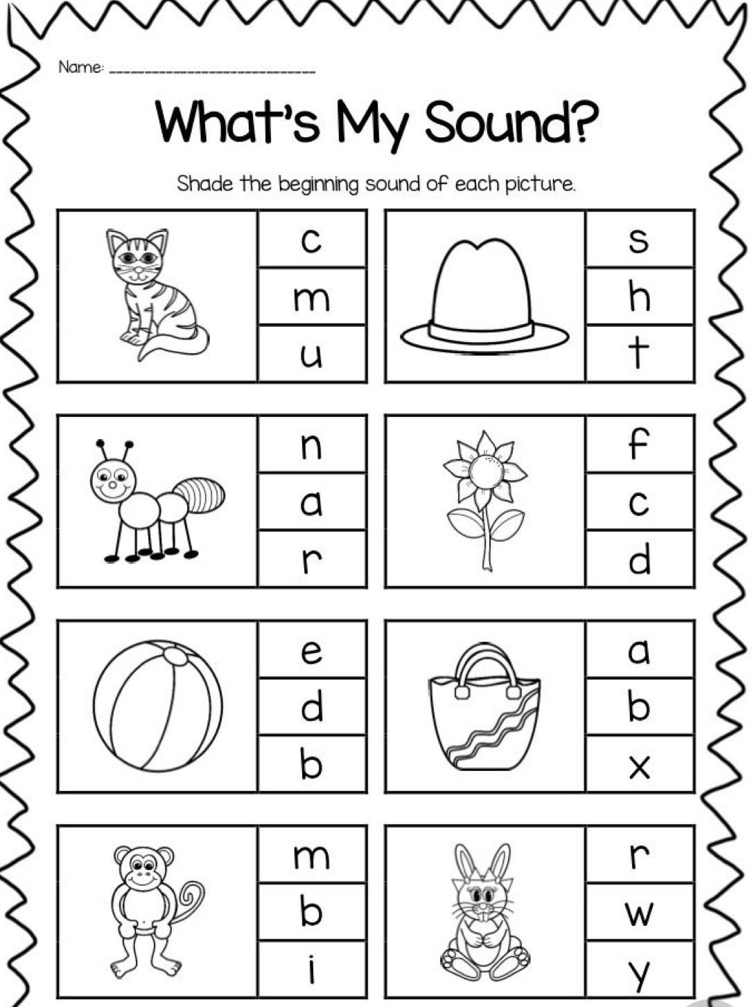 Pin On Pre School Activities