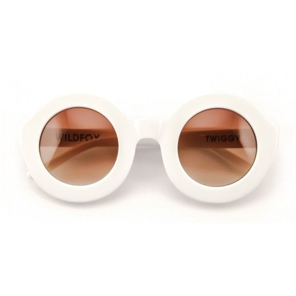 7358c46a84c Wildfox Twiggy Sunglasses ( 179) ❤ liked on Polyvore featuring accessories