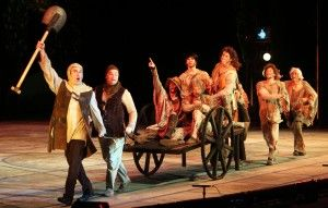 Spamalot cart with dead bodies - Google Search