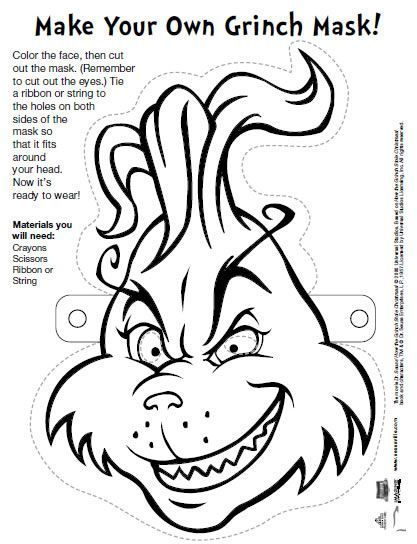 How To Draw The Grinch Grinch Coloring Pages Christmas Coloring