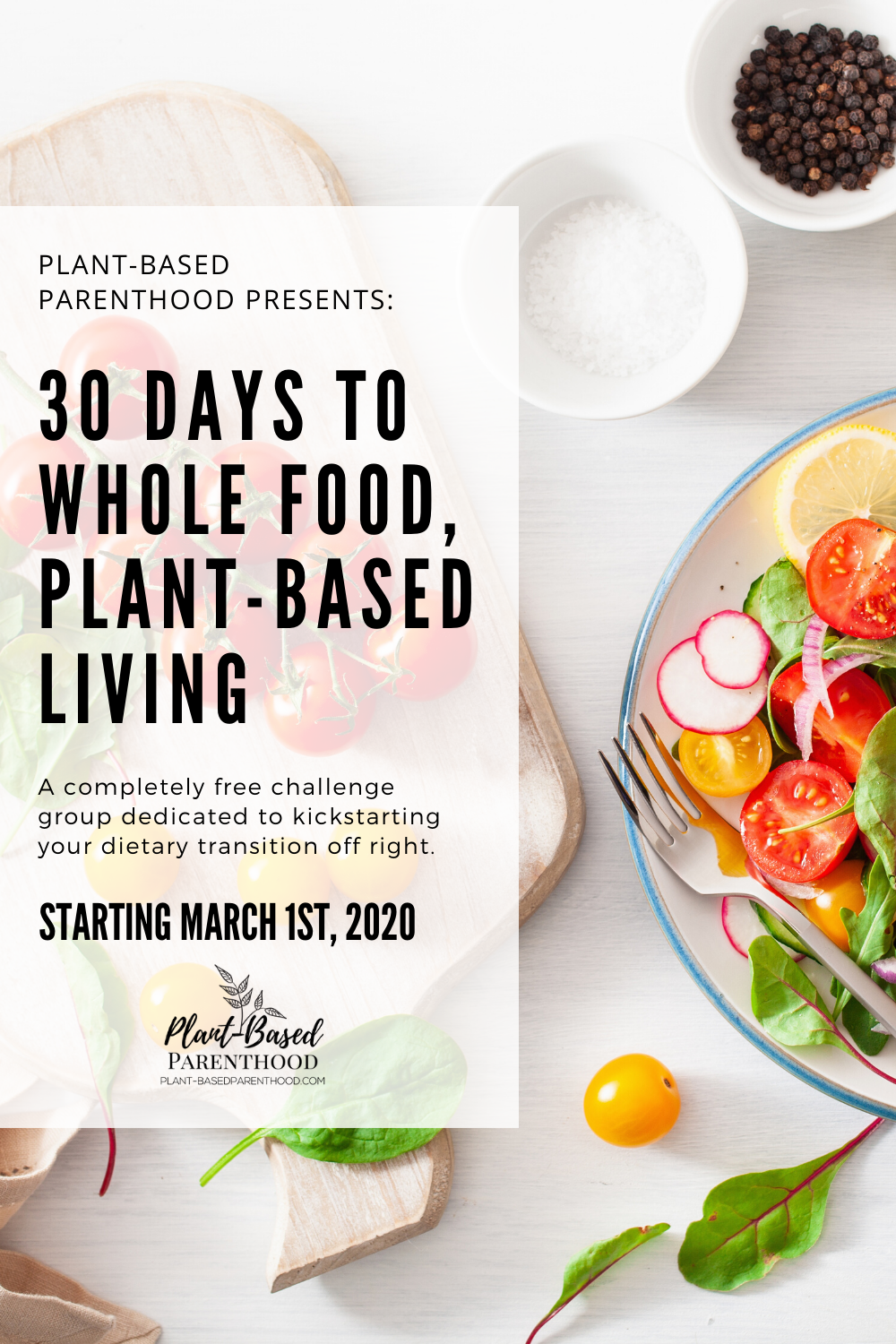 30 Days To Whole Food Plant Based Wfpb Living Challenge Group In 2020 Vollwerternahrung Rezepte Pflanzenbasierte Ernahrung Vegane