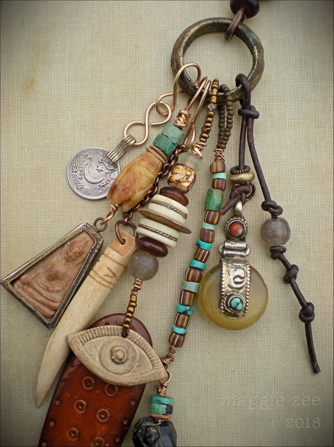 Shaman Ritual Amulet Necklace