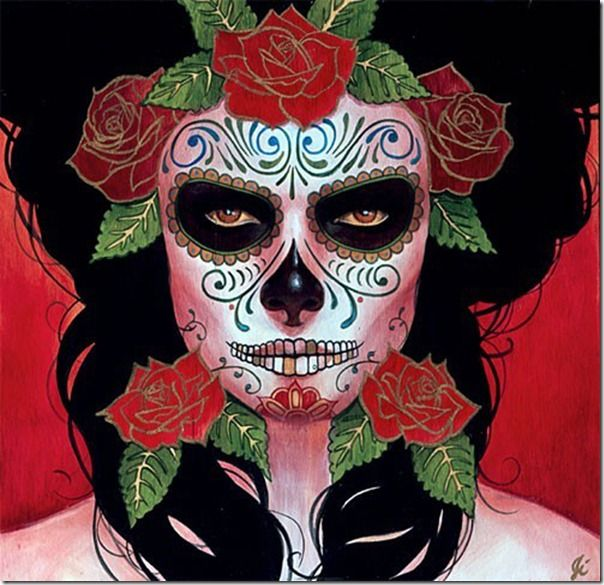 mascara mexicana maquillaje