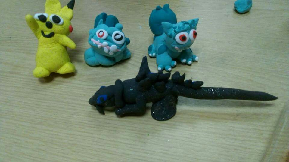 Cool Pokemon Creations And Godzilla In Clay Jude And Imelda S