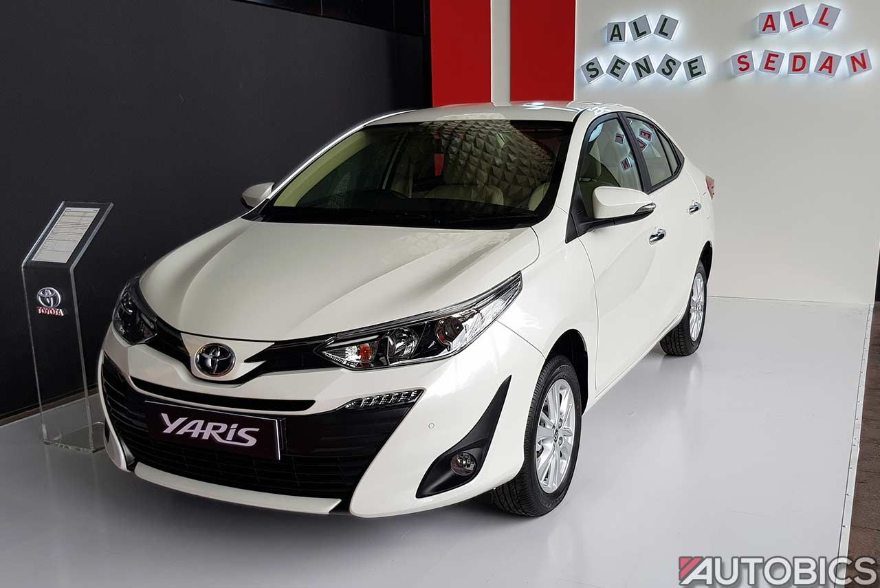 Toyota Kirloskar Motor Has Officially Launched The New Yaris In India The Company Had First Showcased The Toyota Yaris Sedan At Au Yaris Toyota Product Launch