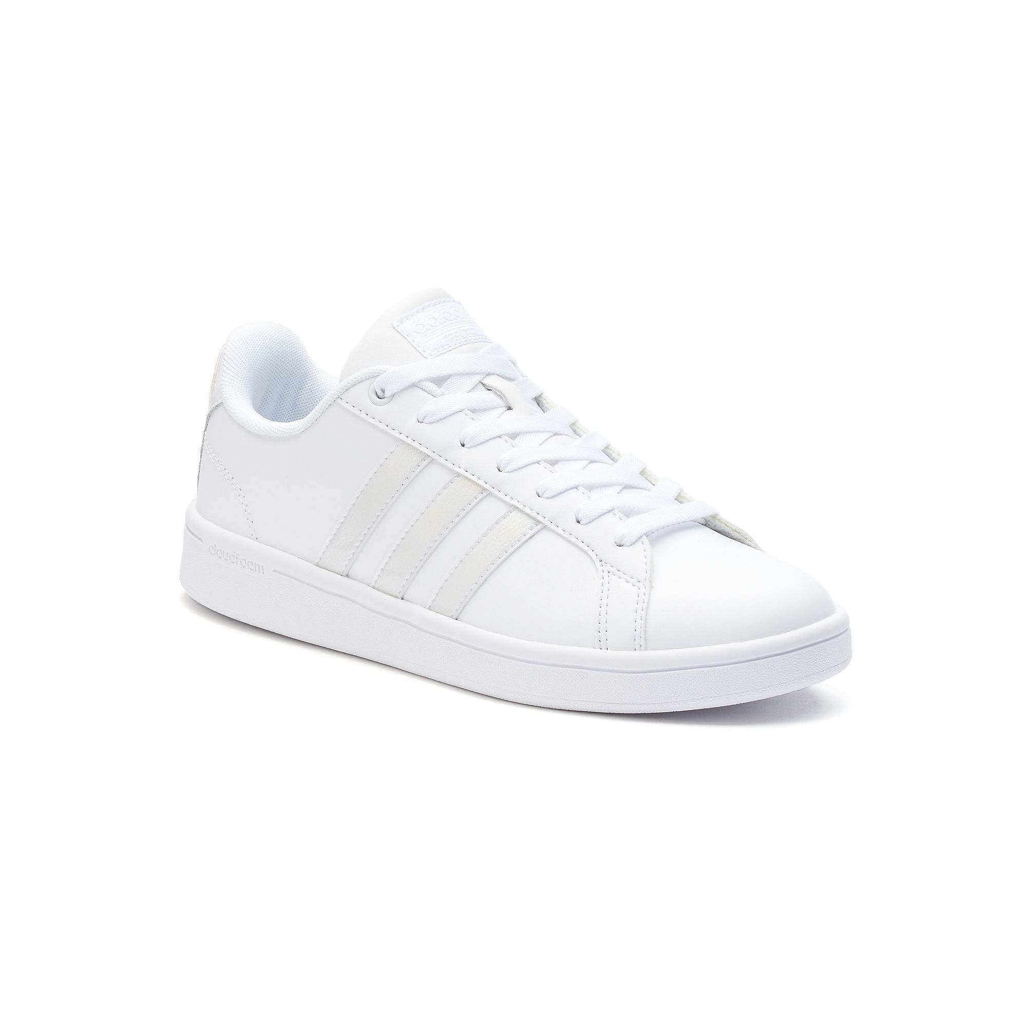 Adidas NEO Cloudfoam Advantage Stripe Women's Shoes, Size ...