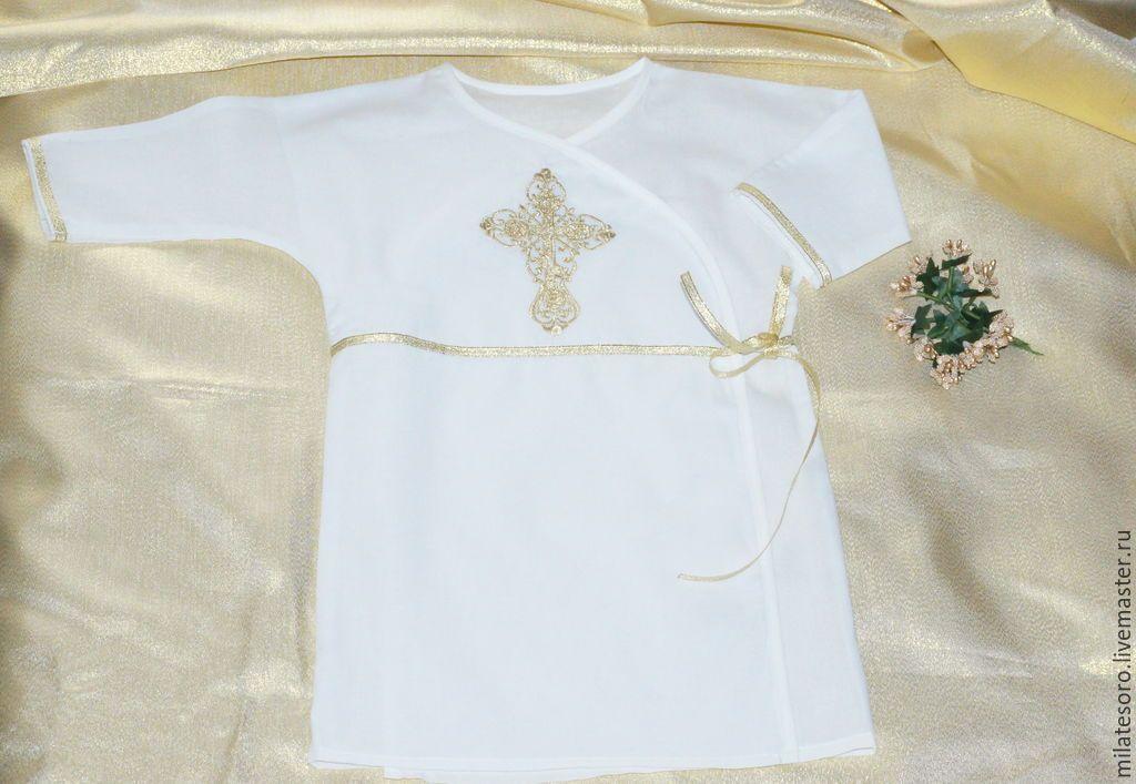крестильная рубашка с запахом - Пошук Google   Рубашка крестильная ...