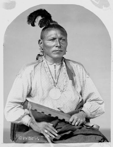 In Early Times Both Men And Women Of The Omaha Ponca Had Their Ears Pierced For First Time At A Very Age Usually About 3 Or 4 Years Old