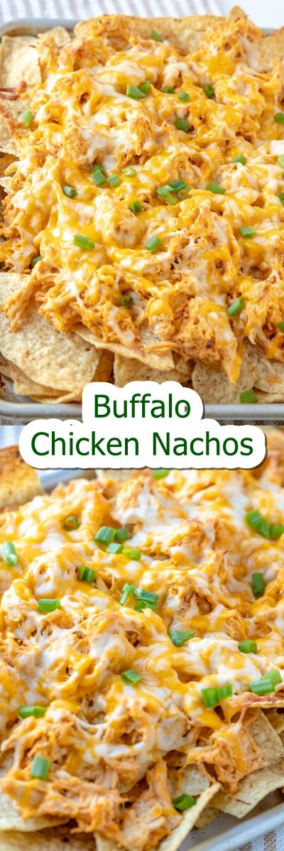 Buffalo #Chicken #Nachos Crunchy tortilla chips are loaded with mushy chicken drenched in a spicy buffalo ranch sauce and smothered in cheese for the most advantageous sport day snack. These Buffalo Chicken Nachos are simple to whip up and are certain to please your hungry crowd!  A sheet pan filled with buffalo bird nachos. BUFFALO CHICKEN NACHOS RECIPE  Hey all! Sam once more from The Culinary Compass to carry you those excellent Buffalo Chicken Nachos! Im all the time a fan whilst soccer seas #buffalochickennachos