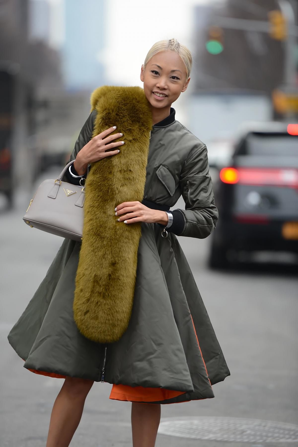 yep. fab. #VanessaHong in NYC. #TheHautePursuit