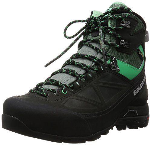 Salomon X Alp Mtn Gtx Mountaineering Boot Women S Asphalt Light Tt Jade Green 6 5 Visit The Image Link More Detai Boots Women Fashion Boots Womens Boots