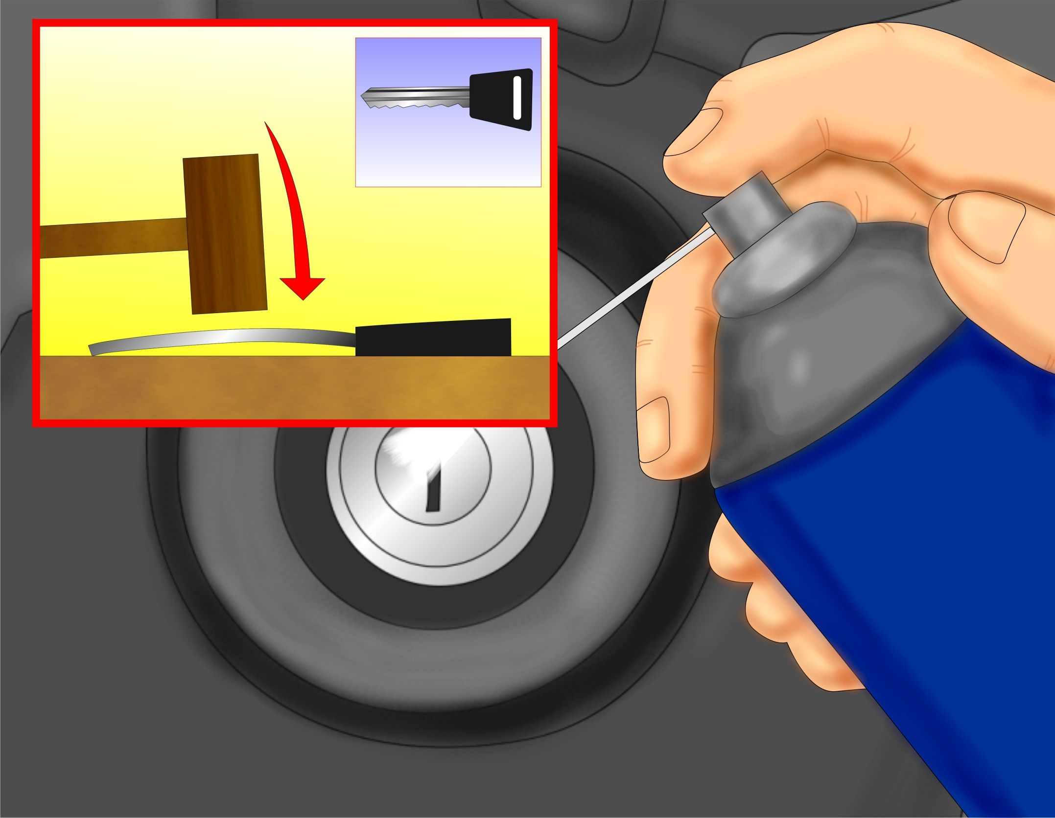 Fix An Ignition Key That Doesn T Turn Car Fix Car Hacks Auto