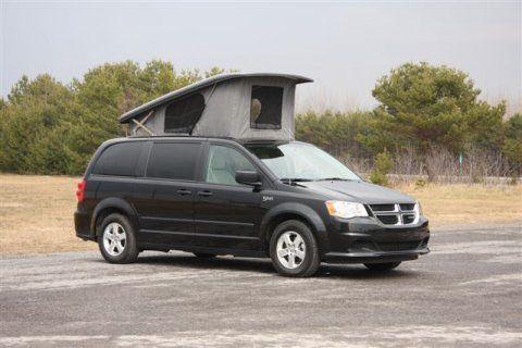 2013 Dodge Grand Caravan Illusion Camper Van From Vancouver Island