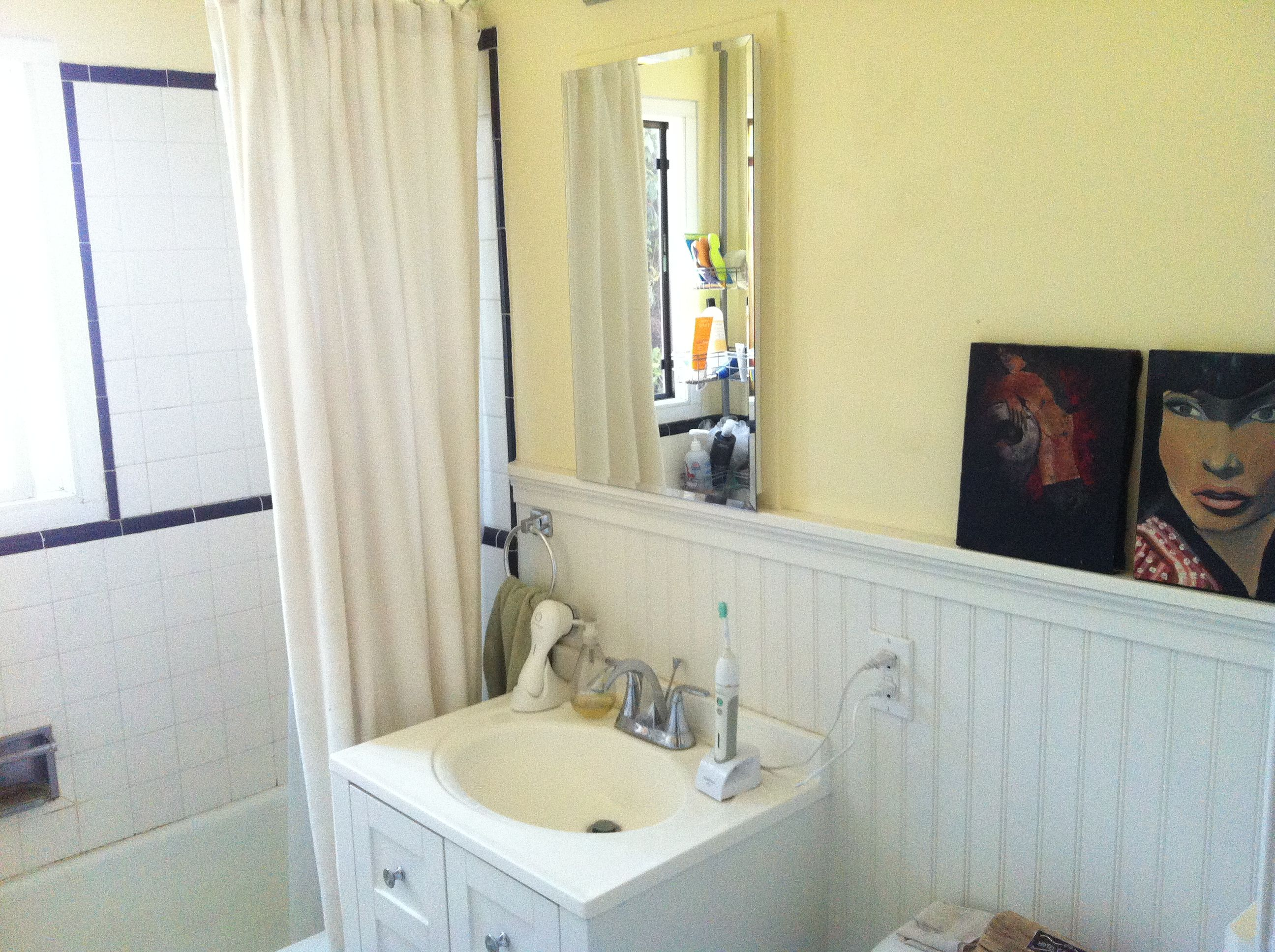Wainscoting Bathroom For The Home Pinterest