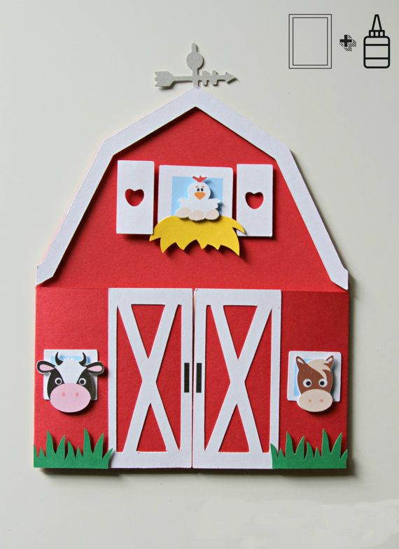 Thank You Cards 10 Personalised Farm Animals  Party Invitations