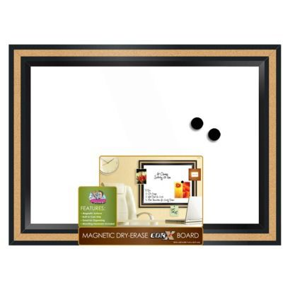 The Board Dudes Magnetic Dry-Erase Corx Board 17\