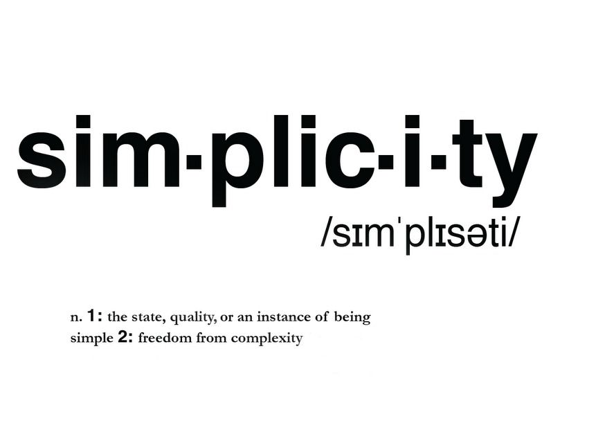 Simplicity Is The Key Steemit Simplicity Quotes Words Quotes
