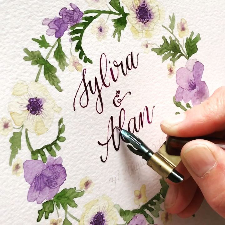 Video Modern Calligraphy Lettering