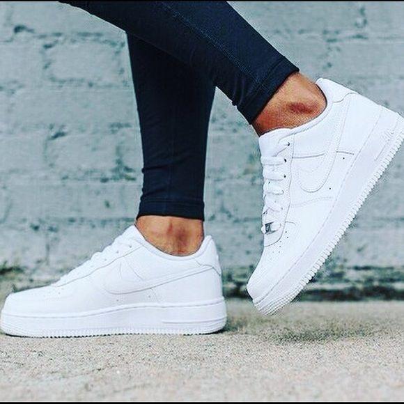 Nike Air Force 1 Low White Casual Sport Shoes Nike Shoes Women Casual Shoe Sneakers