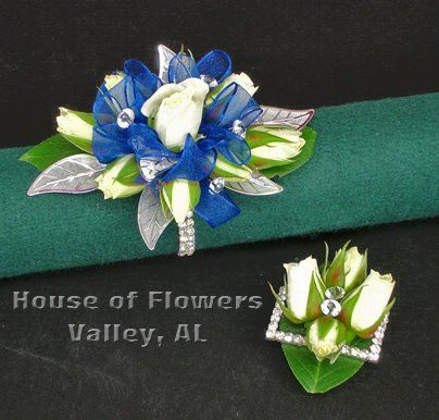 Wrist Corsages – House of Flowers Prom Designs