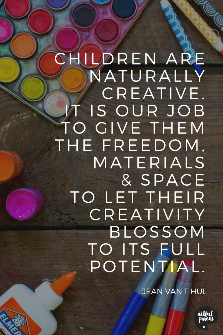 So True Click Here For More On How To Foster Childrens Creativity