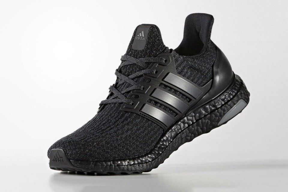 adidas ultra boost all black 3.0