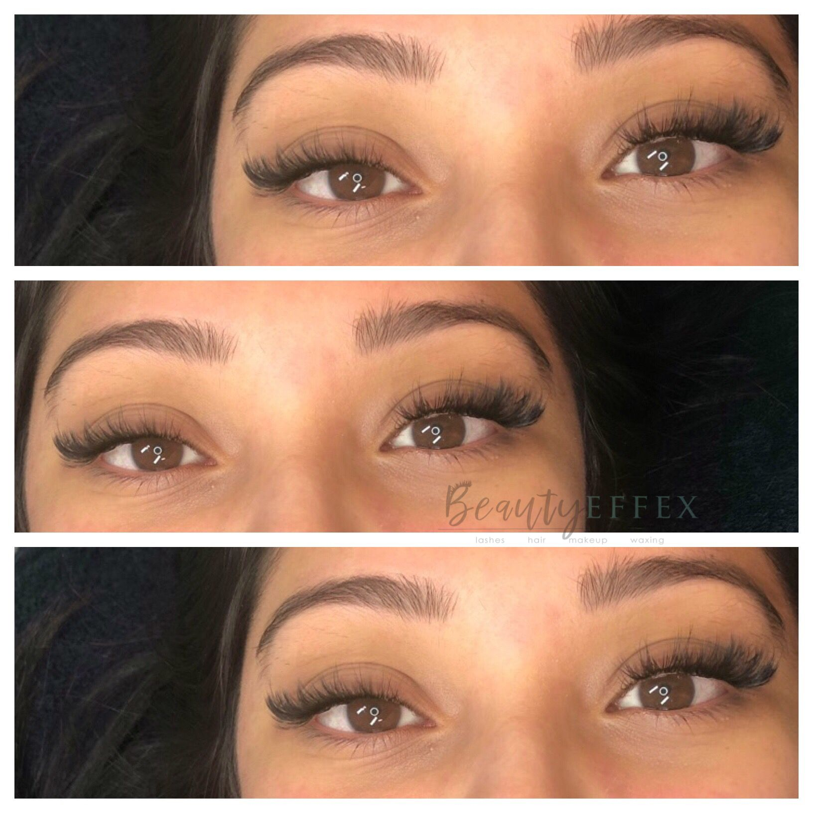 aec88524052 Transitioned this beauty from classic to hybrid lashes. 9-12mm kitten  styling C/cc curl. By Beauty Effex