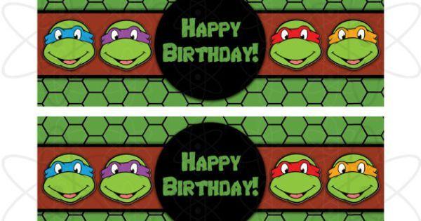 Ninja Turtle Printables Free