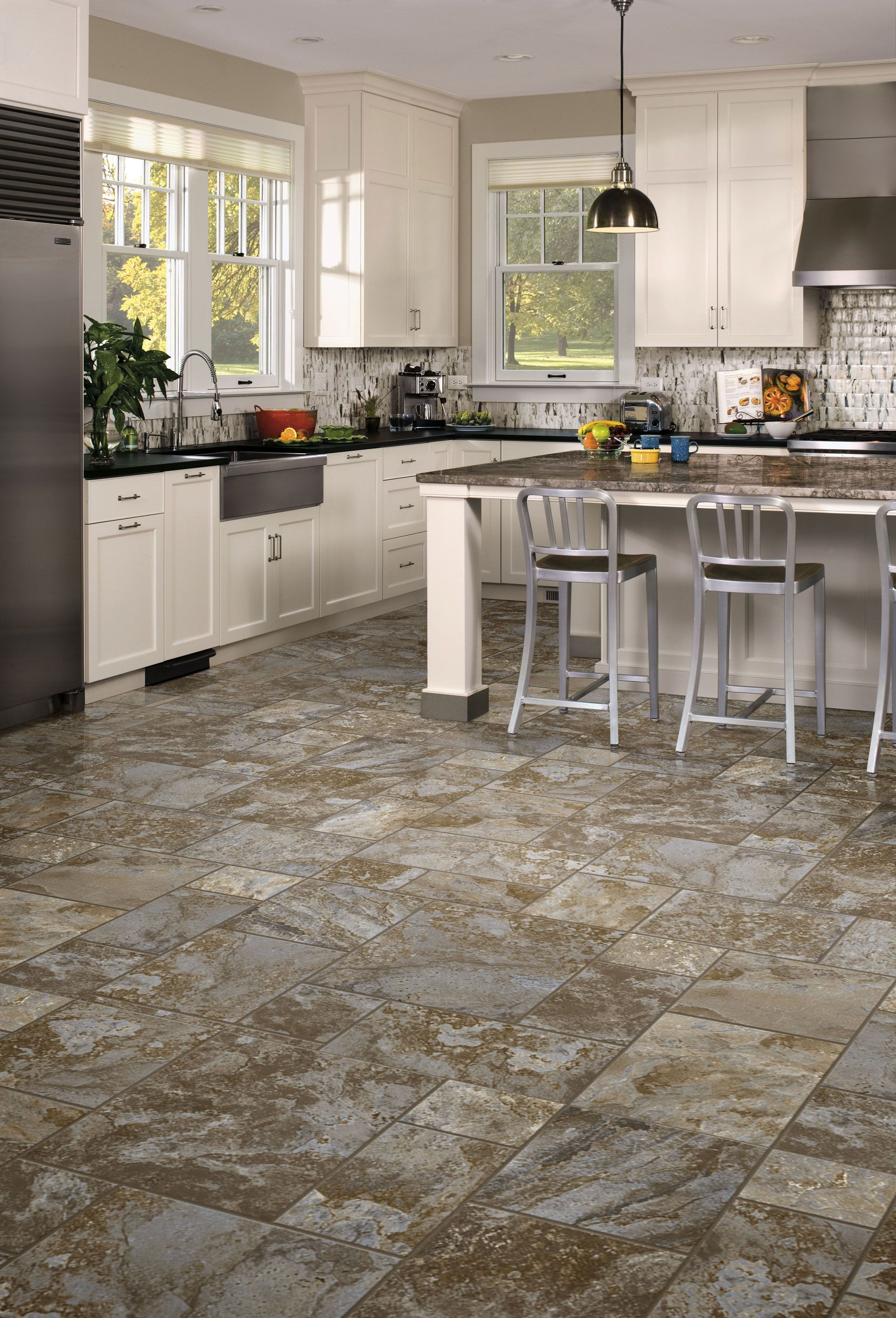 airstep evolution terrace blue dusk vinyl flooring kitchen flooring on kitchen remodel vinyl flooring id=30848