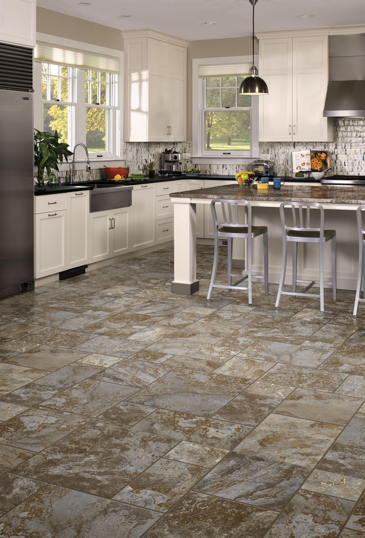 Airstep Evolution Terrace Blue Dusk Vinyl Flooring Kitchen Floor Rugs
