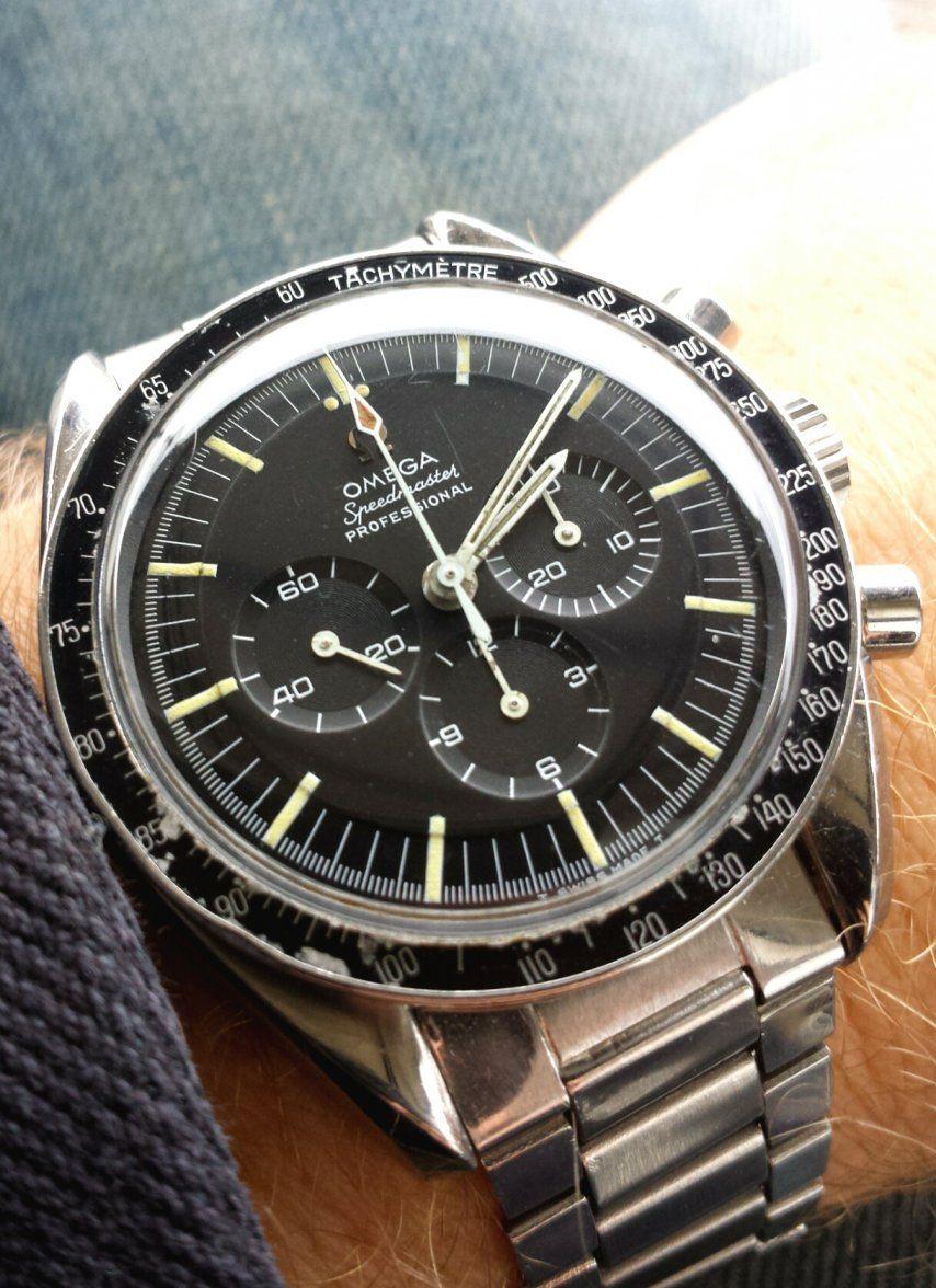 Vintage OMEGA Speedmaster Pro Moonwatch Calibre 321 Circa 1967 - http://omegaforums.net