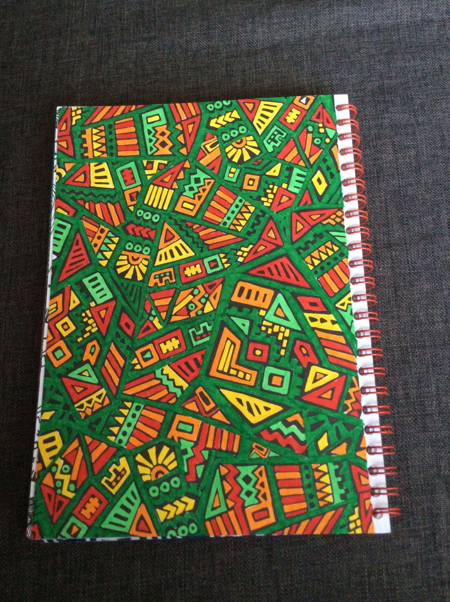 """Kleurplaat uit """"het enige echte kleurboek voor volwassenen op reis"""" door"""