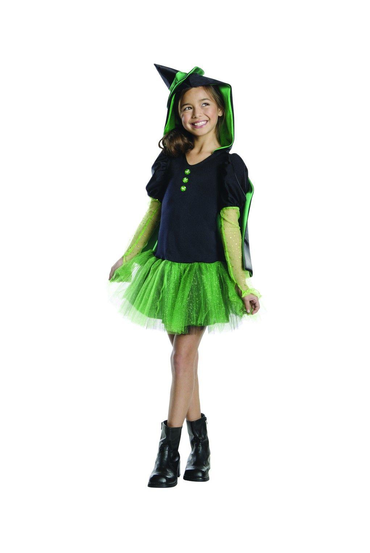 Disfraz De Bruja Del Oeste El Mago De Oz Tutu Para Niña Disfraz De Bruja Tutú Para Niños Disfraz