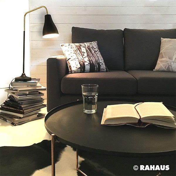 MODERN MONOCHROM RAHAUS Sofa Couchtisch Interior Design Wohnen